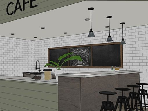 Rustic Modern Café